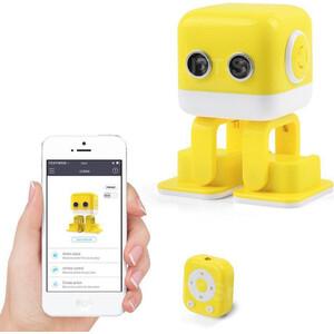 Интеллектуальный танцующий робо WLTOYS Cubee F9 Yellow APP - WLT-F9