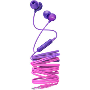 Наушники Philips SHE2405PP pink/purple