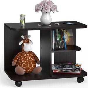 Стол журнальный Мебельный двор С-МД-СЖ-11 венге на колесиках стол журнальный сокол сж 4 венге