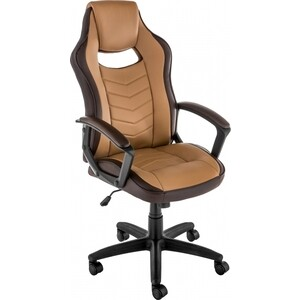 Кресло Woodville Gamer коричневое