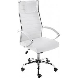 Кресло Woodville Spike белое