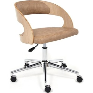 Кресло TetChair Jazz дуб кож/зам бежевый 4203 стул tetchair stamford 828 s дуб в красноту