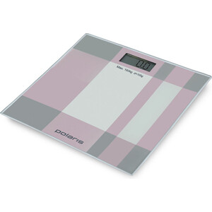 Весы напольные Polaris PWS 1849DG серый/розовый