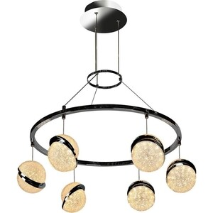 Люстра iLedex Подвесная светодиодная CRystal Ball C4474-6 CR