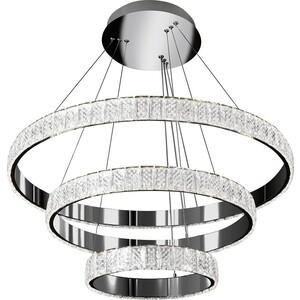 Светильник iLedex Подвесной светодиодный Crystal ice MD7212-90A CR crystal light светильник подвесной yagodans цвет металлический 18х30 см