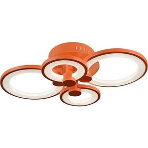 Люстра iLedex Потолочная светодиодная Ring A001/4 Orange