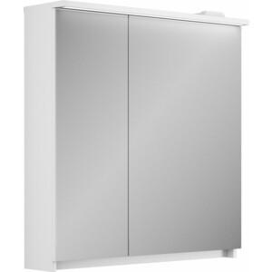 Зеркальный шкаф Veneciana Adel 80 белый с подсветкой (68004) зеркальный шкаф vigo kolombo 80 с подсветкой серый