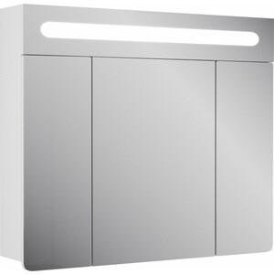 Зеркальный шкаф Veneciana Vetro 80 белый с подсветкой (68005) зеркальный шкаф vigo kolombo 80 с подсветкой серый