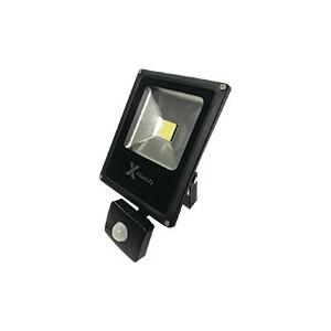 Прожектор X-flash LED с датчиком движения XF-FL-COB-PIR-20W-4000K