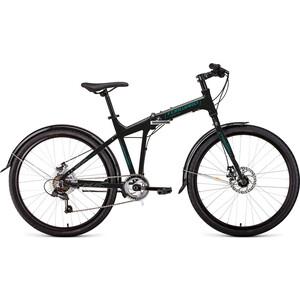 Велосипед Forward Tracer 26 2.0 Disc (2020) 19 черный\бирюзовый