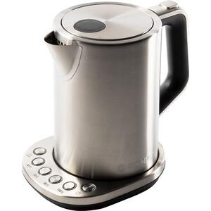 Чайник электрический Endever Skyline KR-240S, стальной/черный сушка для овощей и фруктов endever skyline fd 57 360вт черный