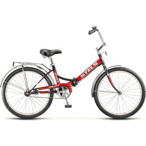 Велосипед Stels Pilot 710 24 Z010 (2019) 16 чёрный/красный stels pilot 410 2017