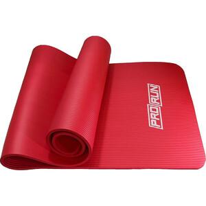 Коврик для йоги ProRun красный NBR (1см*180см*60см)