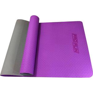 Коврик для йоги ProRun фиолетовый, TPE (0.4см*183см*60см)