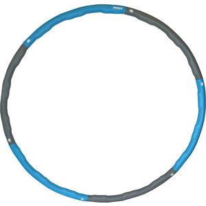 Обруч массажный ProRun разборный с покрытием из неопрена диаметр 98 см голубой