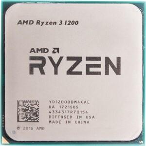 Процессор AMD AMD Ryzen 3 1200 OEM (3.1GHz, 8MB, 65W, AM4) цена 2017