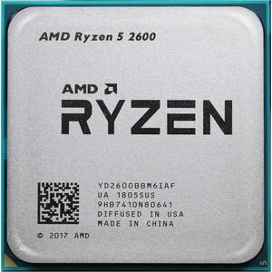 Процессор AMD AMD Ryzen 5 2600 OEM (3.9GHz, 19MB, 65W, AM4) цена 2017