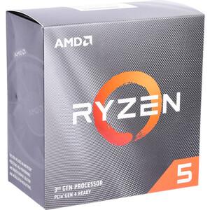 Процессор AMD Ryzen 5 3600 BOX (3.6GHz up to 4.2GHz/6x512Kb+32Mb, 6C/12T, Matisse, 7nm, 65W, unlocked, AM4)