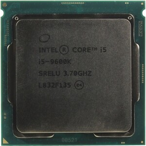 Процессор Intel Core i5-9600K Coffee Lake OEM (3.70Ггц, 9МБ, Socket 1151)