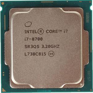 Процессор Intel Core i7-8700 Coffee Lake OEM (3.20Ггц,12МБ, Socket 1151)