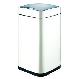 Ведро для мусора WeltWasser Rone WT 12L сенсорное, белое (10000001055)