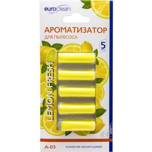Ароматизатор Euroclean Лимон для пылесоса (A-03)