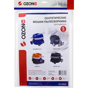 Фильтр для пылесоса Ozone совместимы с COLUMBUS, DELVIR, HAKO, SOTECO, 5 шт (CP-223/5)
