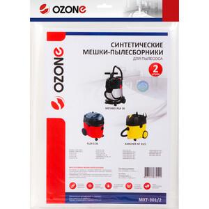 Фильтр для пылесоса Ozone совместимы с KARCHER, DEWALT, FLEX, HAMMER, HAMMERFLEX, HILTI, METABO, 2 шт (MXT-301/2)