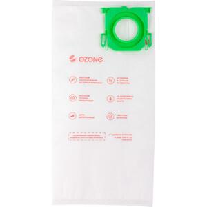 Мешки для пылесоса Ozone совместимы с BORK тип оригинального мешка: V7D1, 4 шт (M-56S) ozone microne m 57 пылесборник для пылесосов bork 8 шт