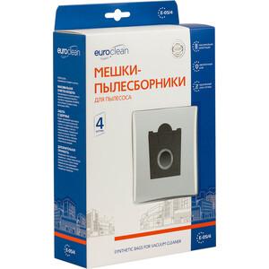 Фильтр для пылесоса Euroclean совместимы с BOSCH,SIEMENS, SCARLETT, UFESA тип оригинального мешка: Typ G, 4 шт (E-05/4)