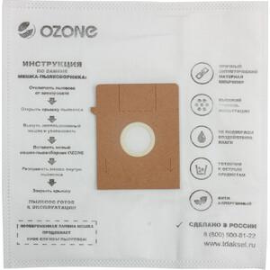 Фильтр для пылесоса Ozone совместимы с BOSCH, PRIVILEG, PROFILO, QUELLE, SIEMENS, UFESA тип оригинального мешка: Typ K, 5 шт (M-32) quelle schiesser 412372