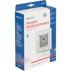 Фильтр для пылесоса Euroclean совместимы с ELECTROLUX, AEG, PHILIPS, TORNADO, VOLTA, ZANUSSI, тип оригинального мешка: S-Bag, 4 шт (E-02/4)