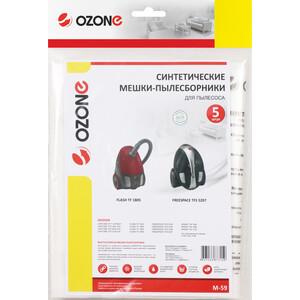 Фильтр для пылесоса Ozone совместимы с HOOVER, 5 шт (M-59)