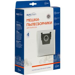 Фильтр для пылесоса Euroclean совместимы с ZELMER тип оригинального мешка: 2700, 2010, 2000, 1100, 919, 828, 818, 450, 400, 4 шт (E-53/4)