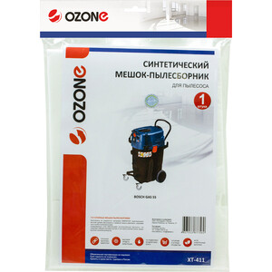 Фильтр для пылесоса Ozone совместимы с BOSCH GAS 55, 1 шт (XT-411) фильтр для пылесоса ozone совместимы с bosch gas 55 1 шт xt 411