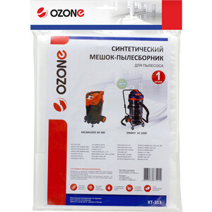 Мешки для пылесоса Ozone совместимы с COLUMBUS, NILFISK, AFC, TENNANT, КОРВЕТ, КРАТОН, 1 шт (XT-313)