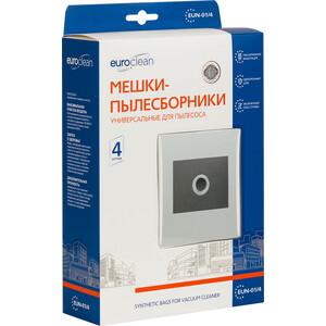 Фильтр для пылесоса Euroclean многоразовые универсальные размер картона: 100 х 130 мм, диаметр отверстия: 40 4 шт (EUN-01/4)