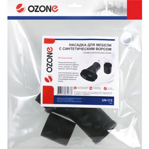 Насадка для пылесоса Ozone универсальная, проф., с длинным синтетическим ворсом (UN-113)