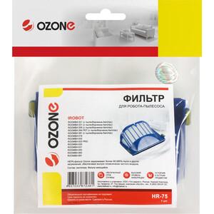 Фильтр для пылесоса Ozone совместим с iRobot ROOMBA 600 серии и ROOMBA 500 (HR-75) irobot roomba 700 series silver handle 760 761 770 771 780 790 765 gray