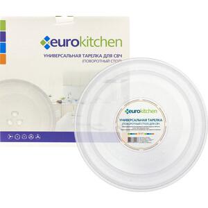 Тарелка для СВЧ Eurokitchen крестовны 245мм (N-01)