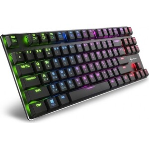 Игровая клавиатура Sharkoon PureWriter TKL RGB (PUREWRITER-TKL-RGB-R)