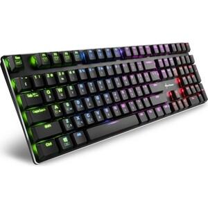 Игровая клавиатура Sharkoon PureWriter RGB (PUREWRITER-RGB-RED)
