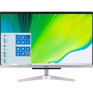 Моноблок Acer Aspire C22-963 silver (Core i3 1005G1/4Gb/1Tb/noDVD/VGA int/W10) (DQ.BENER.006) ноутбук acer aspire a315 53g 38jl core i3 8130u 4gb 1tb 128gb ssd nv mx130 2gb 15 6 fullhd win10 black