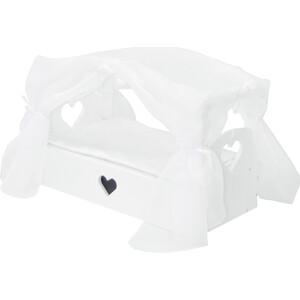 Кроватка с бельевым ящиком PAREMO Серии Любимая кукла, цвет Элис, (PFD120-80)