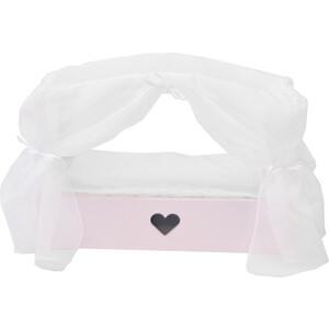 Кроватка с бельевым ящиком PAREMO Серии Любимая кукла, цвет Элис/Мия, (PFD120-81)