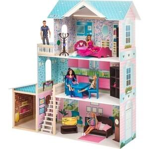 Кукольный дом PAREMO Беатрис Гранд (с мебелью), (PD318-12) paremo кукольный домик розали гранд с мебелью pd318 11 розовый голубой белый