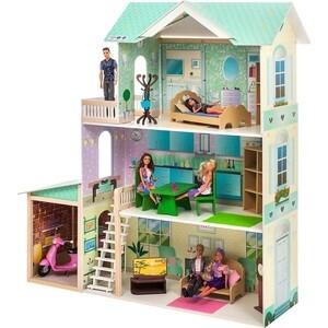 Кукольный дом PAREMO Жозефина Гранд (с мебелью), (PD318-13) paremo кукольный домик розали гранд с мебелью pd318 11 розовый голубой белый