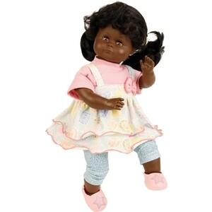 Кукла мягконабивная SCHILDKROET Санни темнокожая 37 см, (5137856GE_SHC)