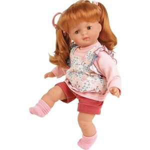 Кукла мягконабивная SCHILDKROET Ханна рыжая 36 см, (4337733GE_SHC)