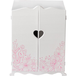 Шкаф для кукол PAREMO цвет: белый, (PFD120-59)